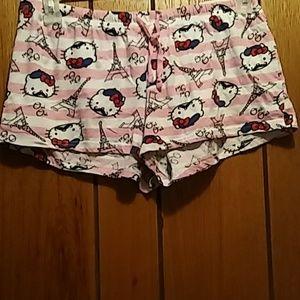 Hello Kitty Oui Pajama Shorts